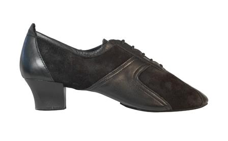 410 Breeze Black Leather/Suede