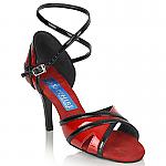 Aurora Red/Black Patent