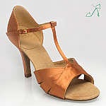 C222 Carmen 2 Light Tan Satin