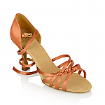 879X Amazon Xtra Dark Tan Satin